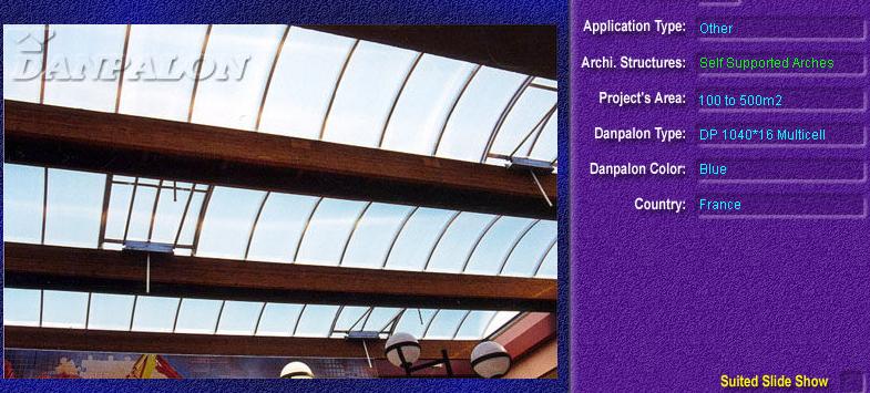 Luminatoare autoportante din placi de policarbonat DANPALON DANPALON - Poza 12