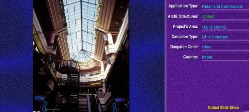 Luminatoare cu panta, din placi de policarbonat COMPACT DANPALON - Poza 1