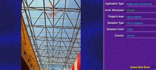 Luminatoare cu panta, din placi de policarbonat COMPACT DANPALON - Poza 2