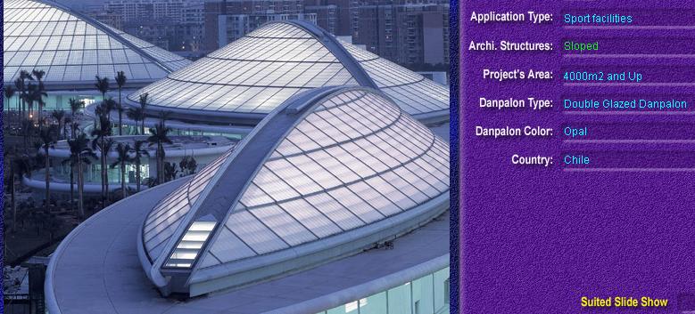 Luminatoare cu panta, din placi de policarbonat DOUBLE GLAZURED DANPALON - Poza 9