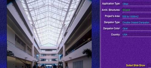 Luminatoare cu panta, din placi de policarbonat DOUBLE GLAZURED DANPALON - Poza 10