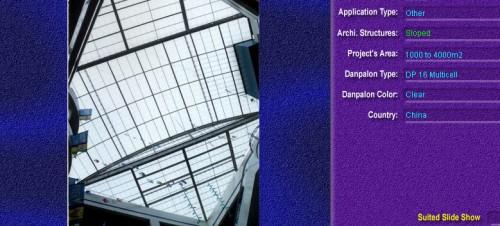 Luminatoare cu panta, din placi de policarbonat MULTICELL DANPALON - Poza 1