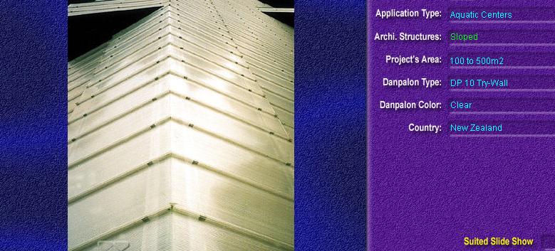 Luminatoare cu panta, din placi de policarbonat TRY WALL DANPALON - Poza 10