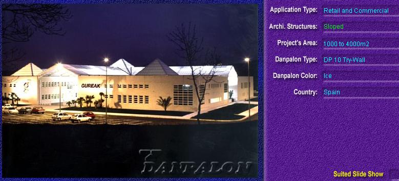 Luminatoare cu panta, din placi de policarbonat TRY WALL DANPALON - Poza 13