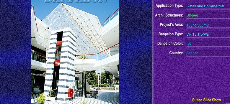Luminatoare cu panta, din placi de policarbonat TRY WALL DANPALON - Poza 21