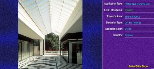 Luminatoare cu panta, din placi de policarbonat TRY WALL DANPALON - Poza 25