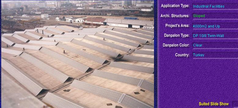Luminatoare cu panta, din placi de policarbonat TWIN WALL DANPALON - Poza 1