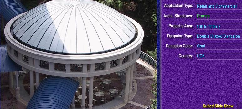 Luminatoare pentru cladiri rezidentiale, din placi de policarbonat DOUBLE GLAZURED DANPALON - Poza 1
