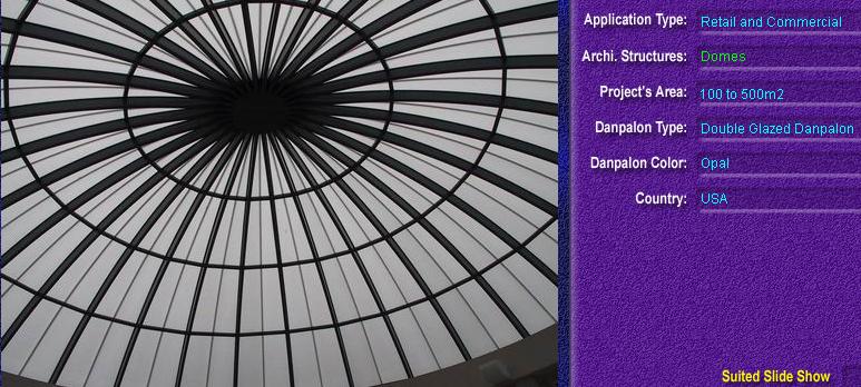 Luminatoare pentru cladiri rezidentiale, din placi de policarbonat DOUBLE GLAZURED DANPALON - Poza 2
