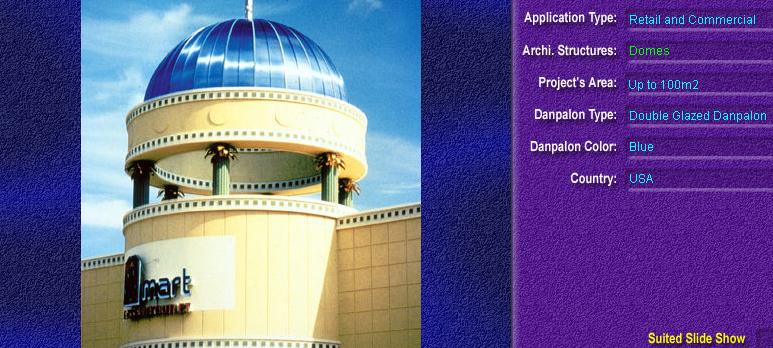 Luminatoare pentru cladiri rezidentiale, din placi de policarbonat DOUBLE GLAZURED DANPALON - Poza 3