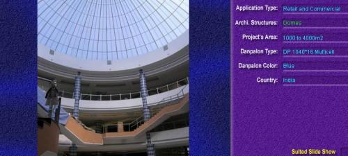 Luminatoare pentru cladiri rezidentiale, din placi de policarbonat MULTICELL DANPALON - Poza 1