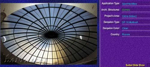 Luminatoare pentru cladiri rezidentiale, din placi de policarbonat MULTICELL DANPALON - Poza 3