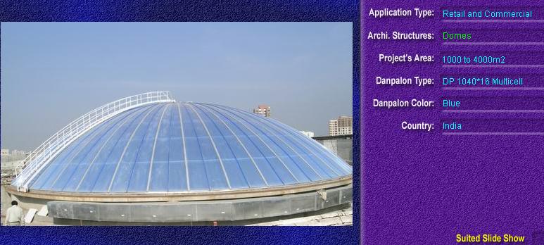 Luminatoare pentru cladiri rezidentiale, din placi de policarbonat MULTICELL DANPALON - Poza 5