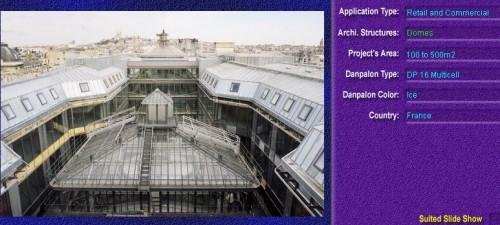 Luminatoare pentru cladiri rezidentiale, din placi de policarbonat MULTICELL DANPALON - Poza 6