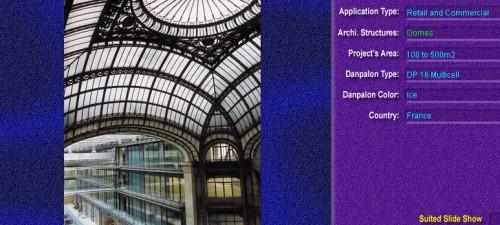 Luminatoare pentru cladiri rezidentiale, din placi de policarbonat MULTICELL DANPALON - Poza 7
