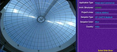 Luminatoare pentru cladiri rezidentiale, din placi de policarbonat MULTICELL DANPALON - Poza 8