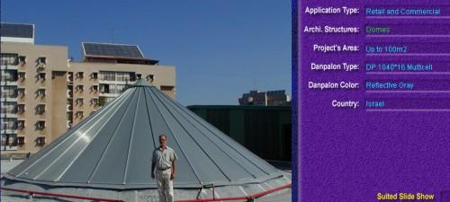 Luminatoare pentru cladiri rezidentiale, din placi de policarbonat MULTICELL DANPALON - Poza 9
