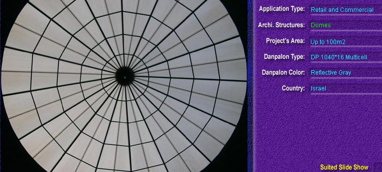 Luminatoare pentru cladiri rezidentiale, din placi de policarbonat MULTICELL DANPALON - Poza 11