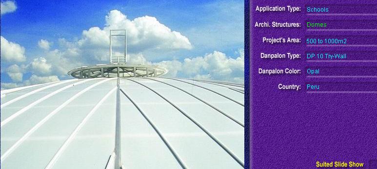 Luminatoare pentru cladiri rezidentiale, din placi de policarbonat TRY WALL DANPALON - Poza 1