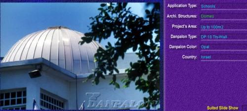 Luminatoare pentru cladiri rezidentiale, din placi de policarbonat TRY WALL DANPALON - Poza 2