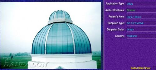 Luminatoare pentru cladiri rezidentiale, din placi de policarbonat TRY WALL DANPALON - Poza 3