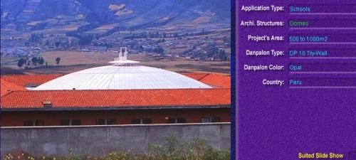 Luminatoare pentru cladiri rezidentiale, din placi de policarbonat TRY WALL DANPALON - Poza 5