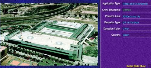 Luminatoare pentru cladiri rezidentiale, din placi de policarbonat TRY WALL DANPALON - Poza 6