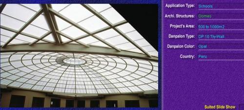 Luminatoare pentru cladiri rezidentiale, din placi de policarbonat TRY WALL DANPALON - Poza 8