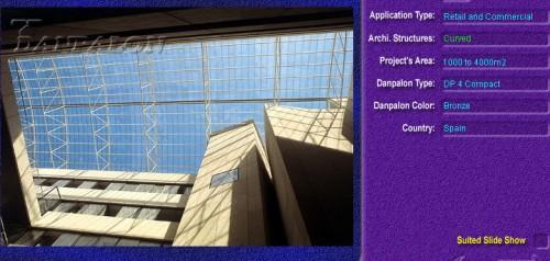Luminatoare semicilindrice, din placi de policarbonat COMPACT DANPALON - Poza 2
