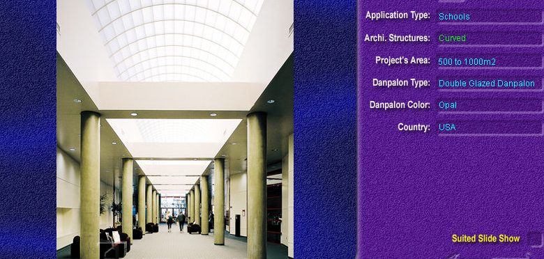 Luminatoare semicilindrice, din placi de policarbonat DOUBLE GLAZURED DANPALON - Poza 4