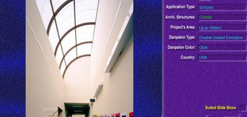 Luminatoare semicilindrice, din placi de policarbonat DOUBLE GLAZURED DANPALON - Poza 5
