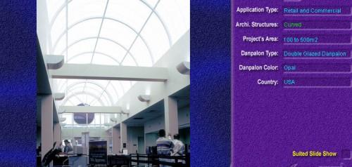 Luminatoare semicilindrice, din placi de policarbonat DOUBLE GLAZURED DANPALON - Poza 8