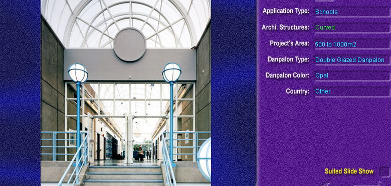 Luminatoare semicilindrice, din placi de policarbonat DOUBLE GLAZURED DANPALON - Poza 10