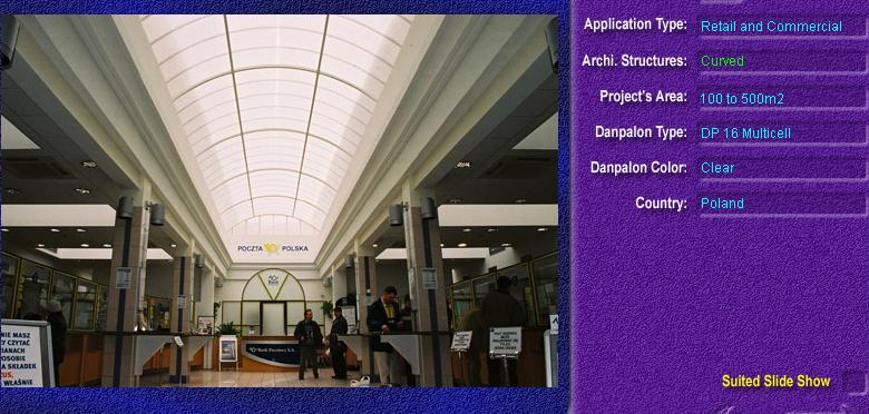 Luminatoare semicilindrice, din placi de policarbonat MULTICELL DANPALON - Poza 2