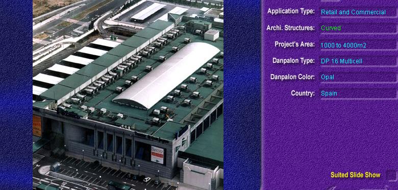 Luminatoare semicilindrice, din placi de policarbonat MULTICELL DANPALON - Poza 12