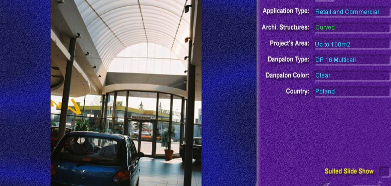 Luminatoare semicilindrice, din placi de policarbonat MULTICELL DANPALON - Poza 20