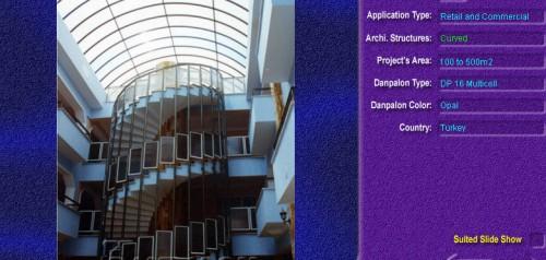 Luminatoare semicilindrice, din placi de policarbonat MULTICELL DANPALON - Poza 21
