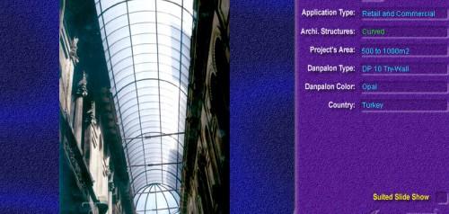 Luminatoare semicilindrice, din placi de policarbonat TRY WALL DANPALON - Poza 2