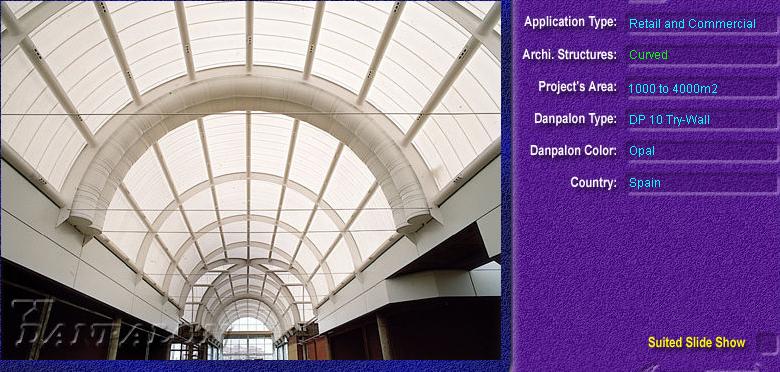 Luminatoare semicilindrice, din placi de policarbonat TRY WALL DANPALON - Poza 10
