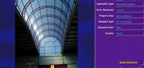 Luminatoare semicilindrice, din placi de policarbonat TRY WALL DANPALON - Poza 12