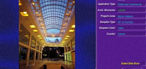 Luminatoare semicilindrice, din placi de policarbonat TRY WALL DANPALON - Poza 14