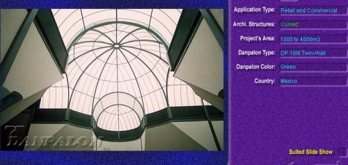 Luminatoare semicilindrice, din placi de policarbonat TWIN WALL DANPALON - Poza 3