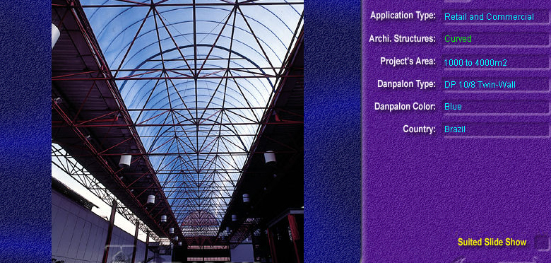 Luminatoare semicilindrice, din placi de policarbonat TWIN WALL DANPALON - Poza 4