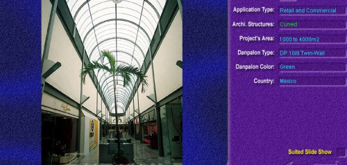 Luminatoare semicilindrice, din placi de policarbonat TWIN WALL DANPALON - Poza 7