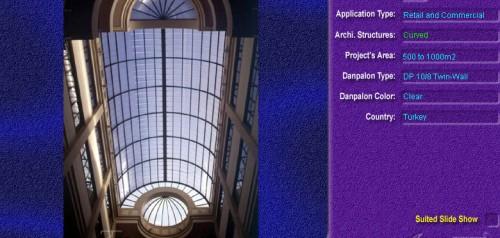 Luminatoare semicilindrice, din placi de policarbonat TWIN WALL DANPALON - Poza 8