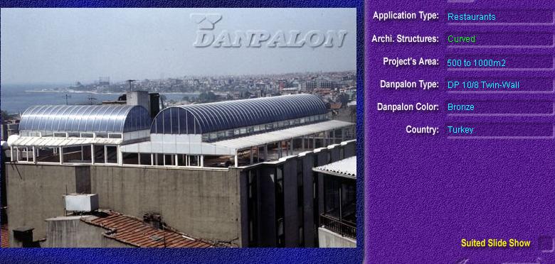 Luminatoare semicilindrice, din placi de policarbonat TWIN WALL DANPALON - Poza 9