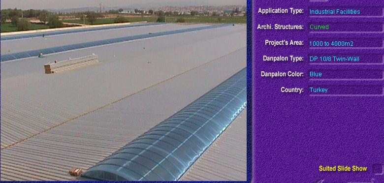 Luminatoare semicilindrice, din placi de policarbonat TWIN WALL DANPALON - Poza 10