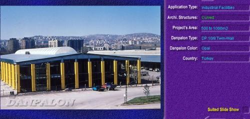 Luminatoare semicilindrice, din placi de policarbonat TWIN WALL DANPALON - Poza 11