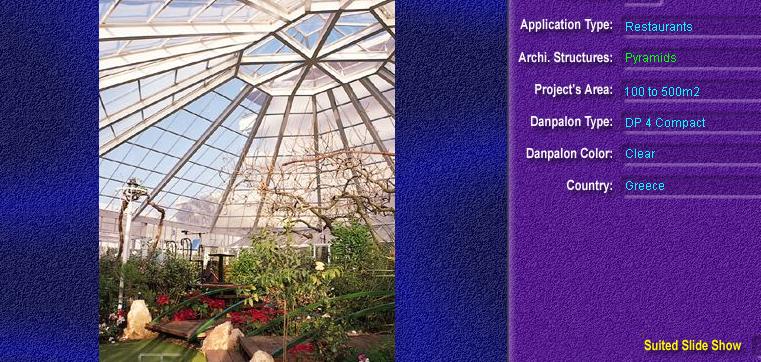 Luminatoare tip piramida, din placi de policarbonat COMPACT DANPALON - Poza 1