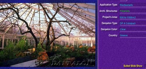 Luminatoare tip piramida, din placi de policarbonat COMPACT DANPALON - Poza 3
